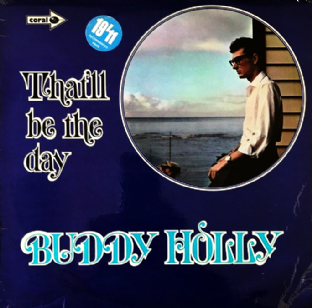 Buddy Holly ‎- That'll Be The Day (LP) (VG/G++)